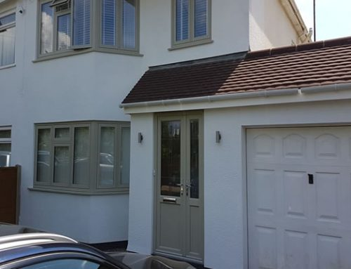 Flush Fit double glazed French grey windows and doors