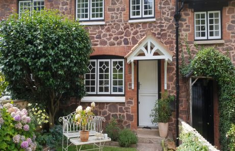 Flush Fit Double Glazed Windows and Doors for Cottage
